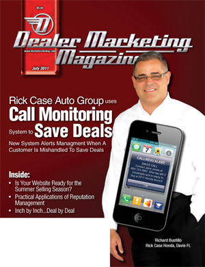 Dealer Marketing Mag CallRevu Saves Deals