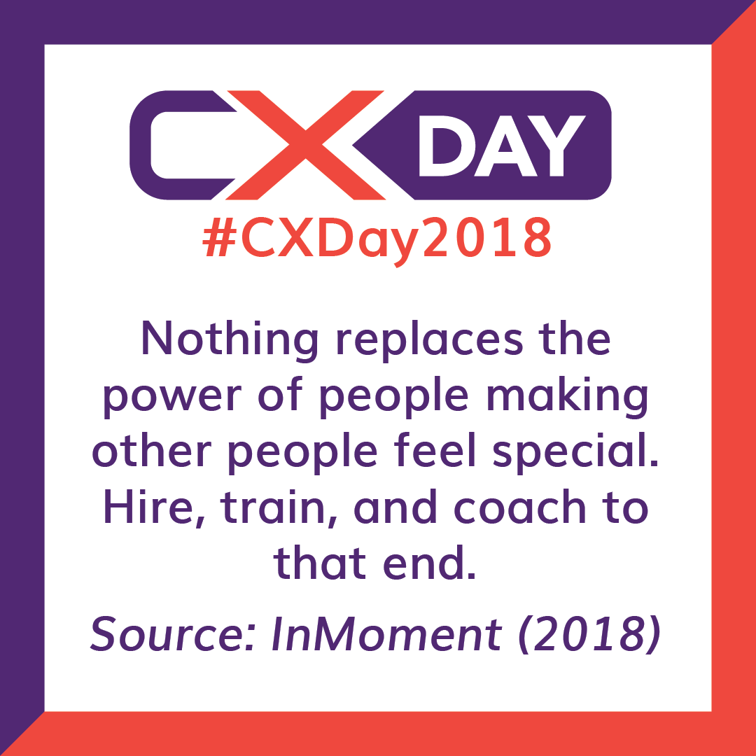 Customer Experience Day 2018